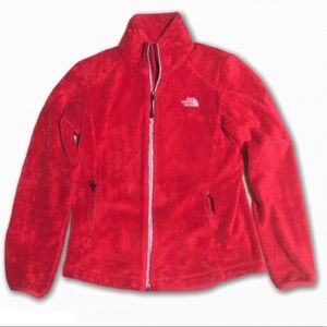 The North Face Red Furry Osito Jacket Size Small